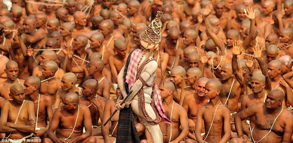 Naga Sadhus' highly secretive initiation processes