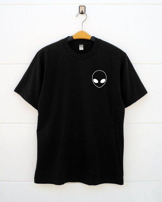 68fae8c9 Alien t shirts alien pocket tee printed t shirts design grey shirt graphic shirts  women's t shirts c