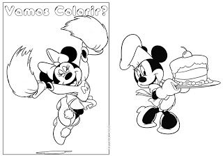 Livro De Colorir Minnie Com Imagens Livro De Colorir Colorir