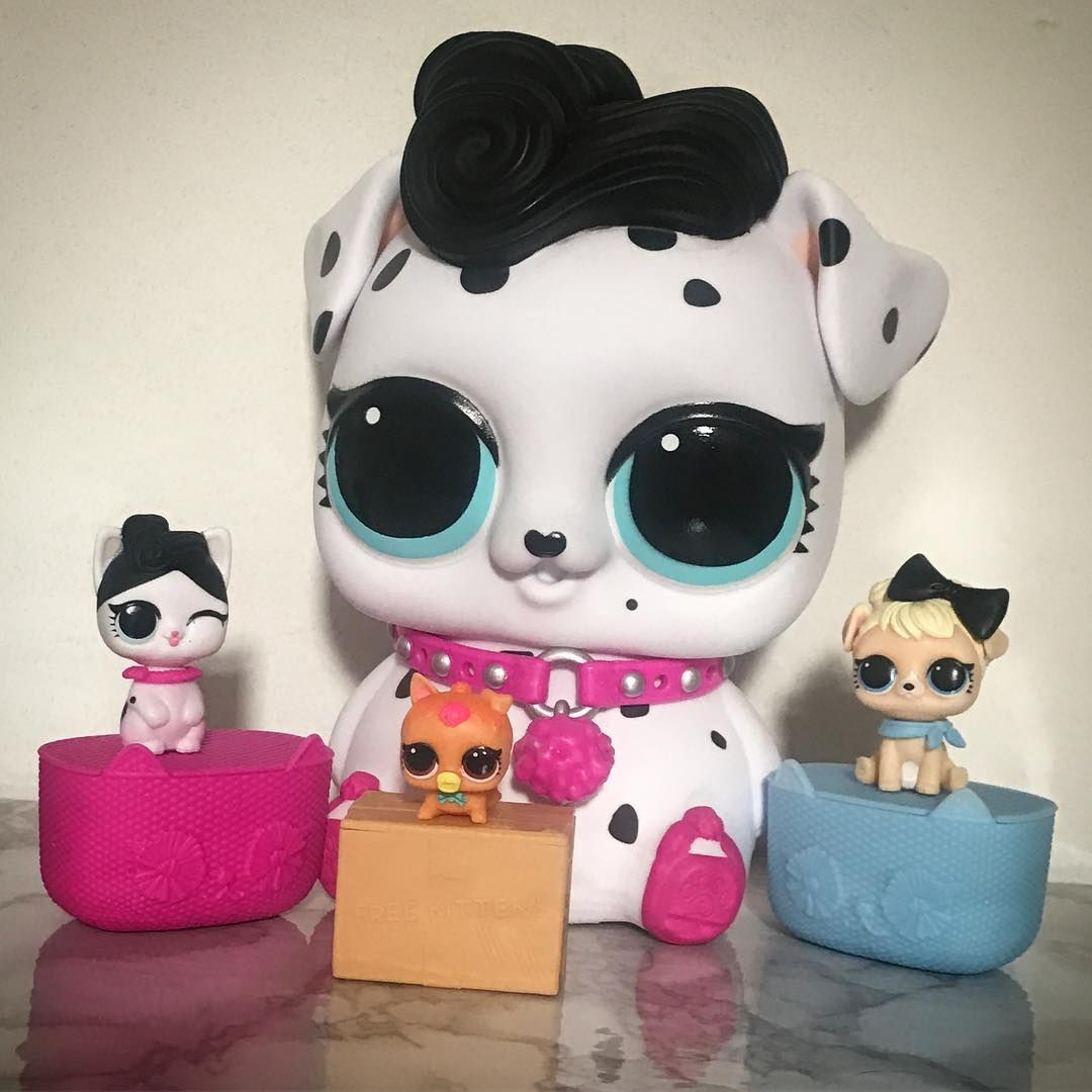 So Here She Is Our First Biggie Lol Surprise Pet With Three Babies That Teeny Neon Kitty Is So Adorable Fun Crafts For Kids Birthday Surprise Party Lol Dolls