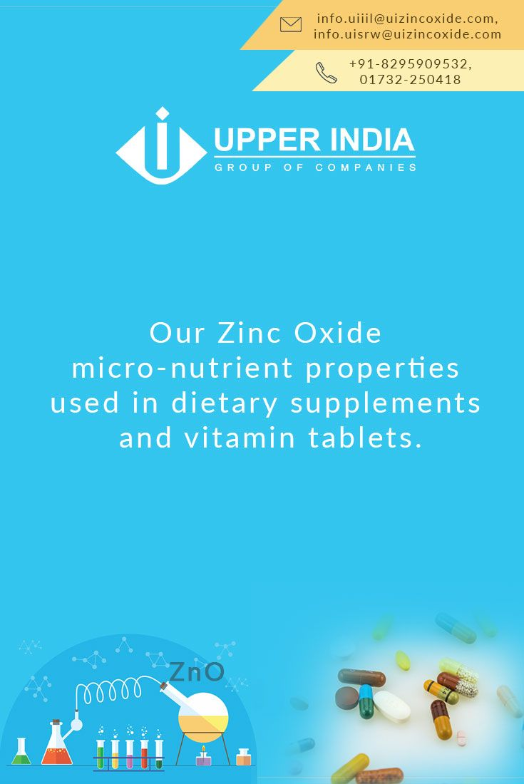 The Body Needs Zinc For Normal Growth And Health Zinc Supplements
