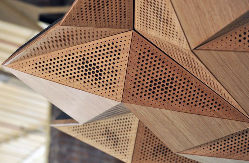 Architectural Wall Design architectural wall panels Origami Architectural Acoustic Panels