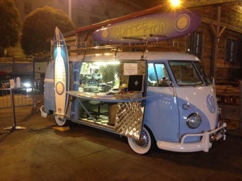 Classic VW Split Screen Camper Van Coffee Conversion Catering Unit Restoration