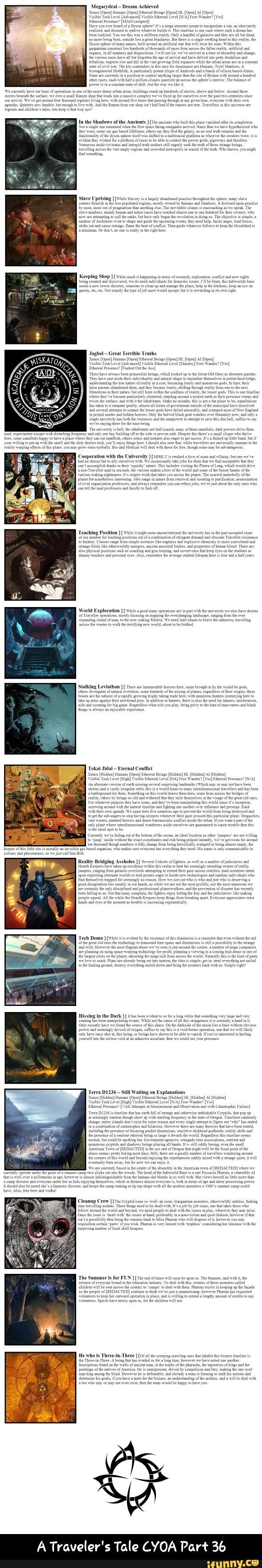 A Traveler's Tale CYOA Part 36 - iFunny :) | Funny Reddit