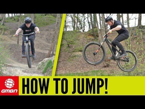 How To Jump On A Mountain Bike Mtb Skills Youtube Mountain