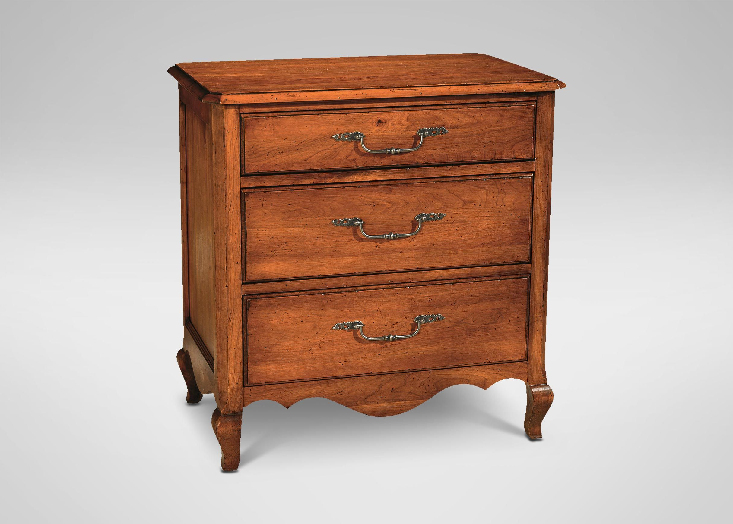 Percy Three Drawer Chest Caraway 277 Furniture Bedroom