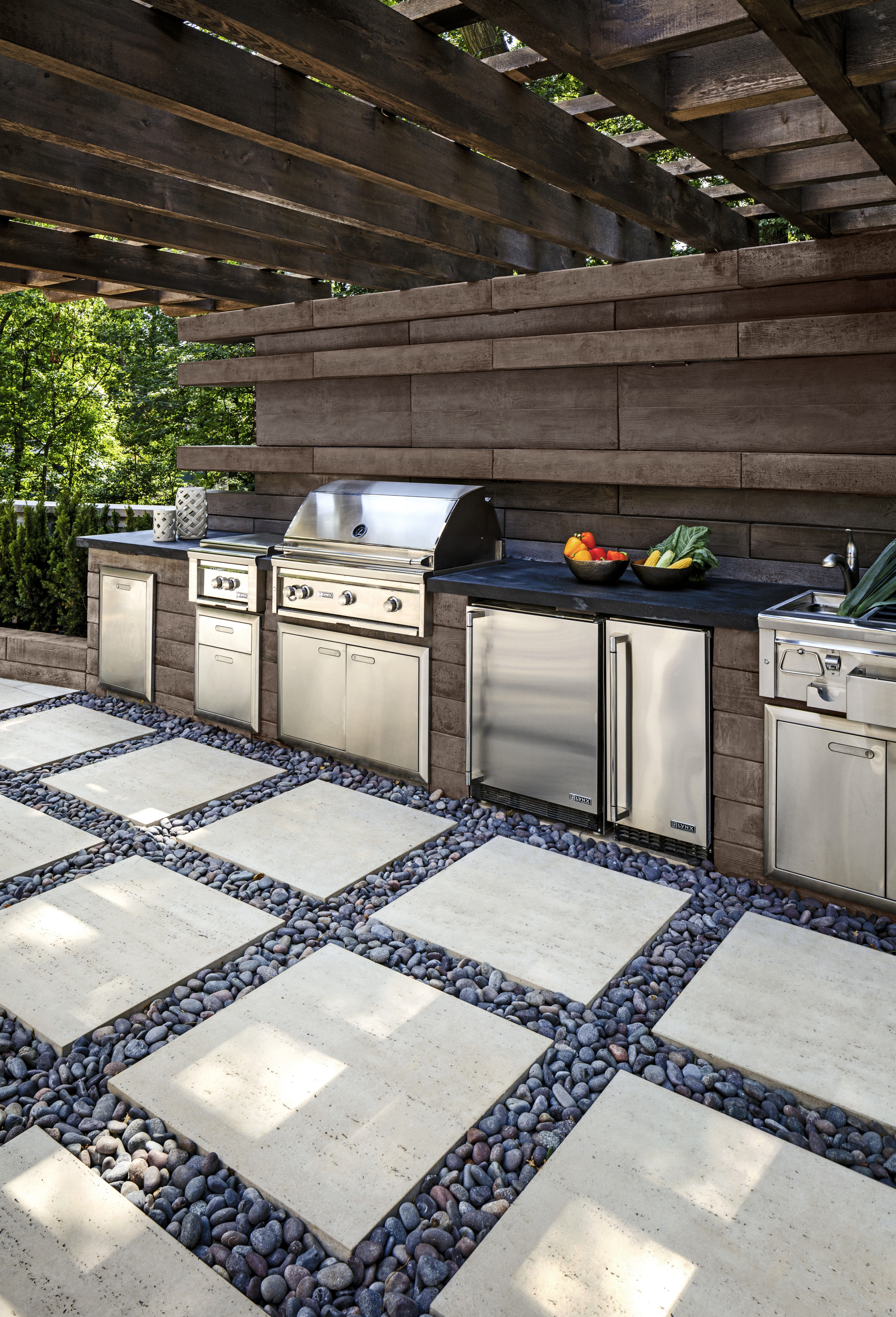 Outdoor Kitchen Designing The Perfect Backyard Cooking Station Covered Outdoor Kitchens Modern Outdoor Kitchen Luxury Outdoor Kitchen