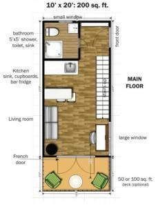 Save yourself the stress of building a tiny house on your own this this modular tiny house can be delivered to you fully assembled free floor plans solutioingenieria Image collections