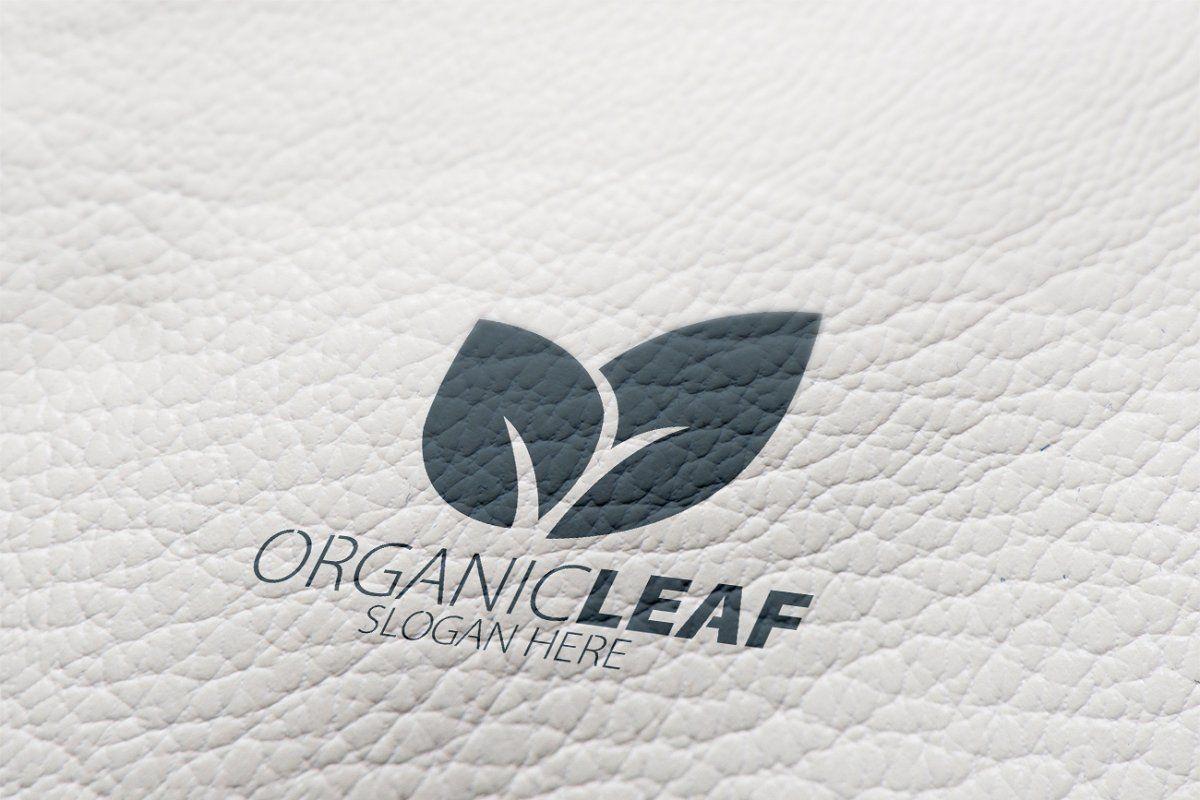 Ad Organic Leaf Logo by essegraphic on creativemarket