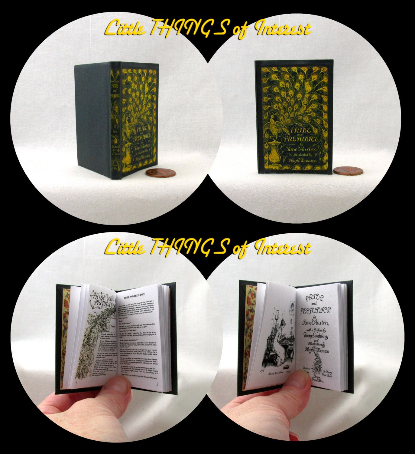 CHARMED BOOK OF SHADOWS Illustrated Book in 1:3 Scale Readable Magic Spell Book