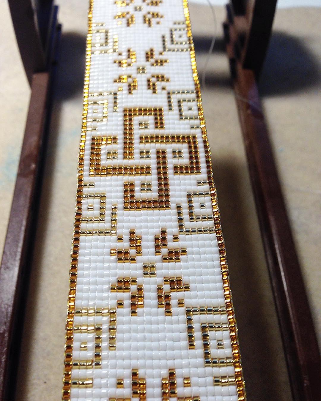 Pin von Klara Sn auf Bead loom | Pinterest | Perlenweben, Perlen und ...