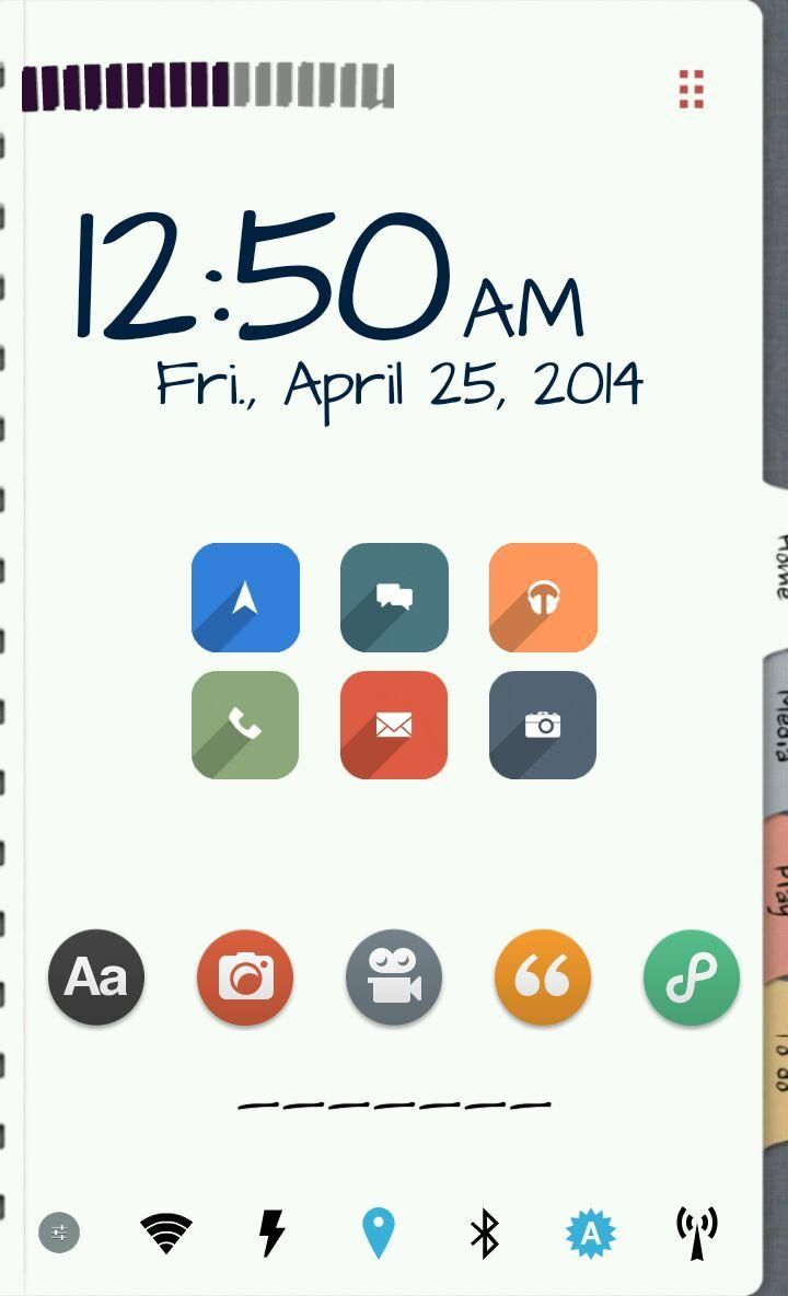 Homepack Buzz] Check out this awesome homescreen! Noris Sola   My ...