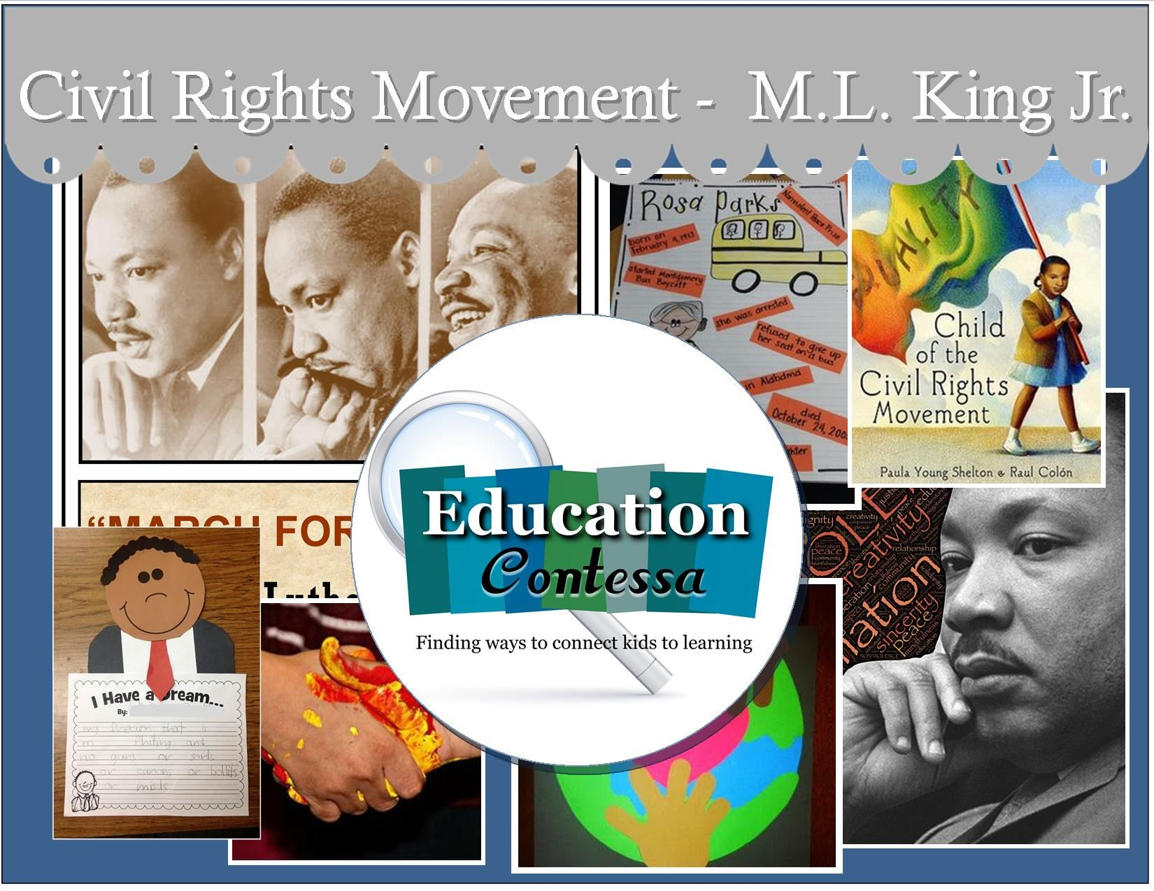 Lessons And Activities To Teach Civil Right Movement And M Lng Jr