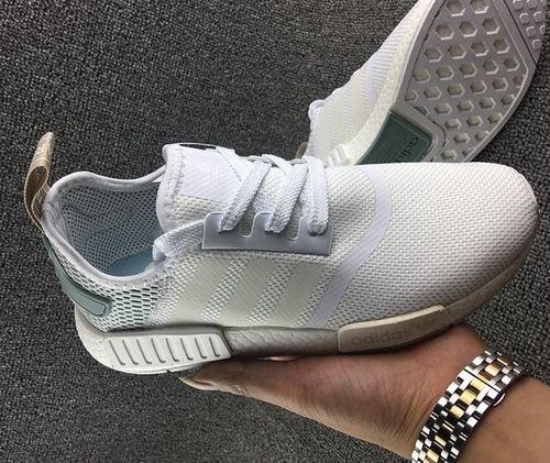 adidas donne mens originali nmd r1 scarpe bianco verde nmd runner