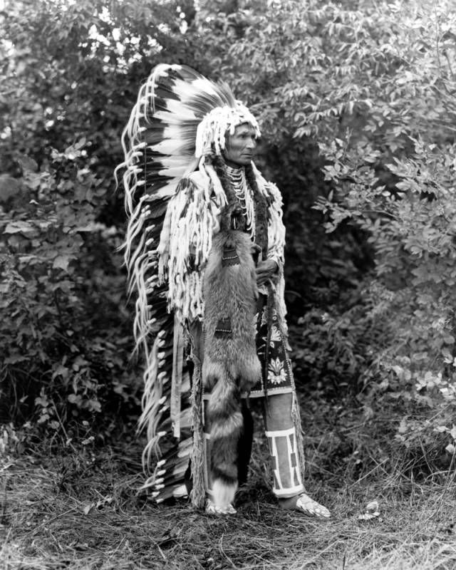 1913 Chief Umapine, Cayuse Indians