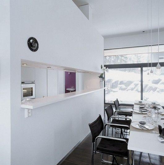 Ideas para crear un pasaplatos en la cocina cocinas - Ideas para decorar cocinas ...