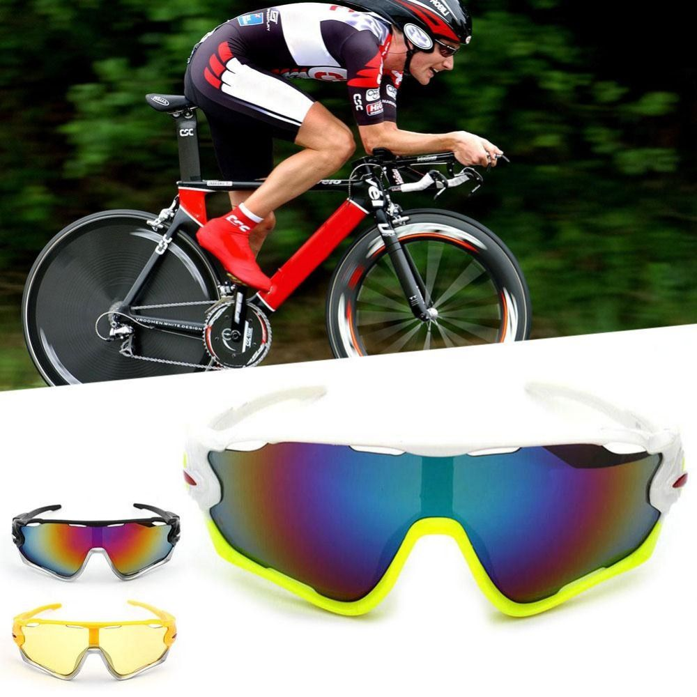 NEW Outdoor Sports Cycling Bicycle Bike Riding Sun Glasses Eyewear Goggle UV400