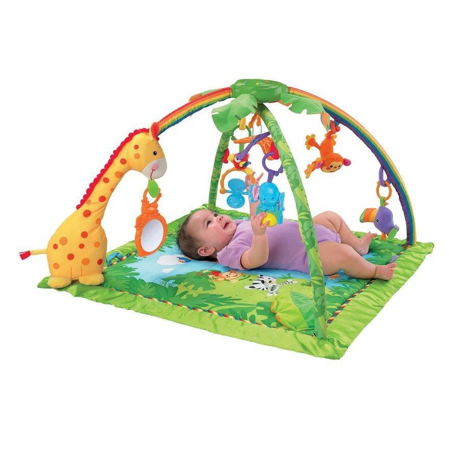 Fisher price rainforest melodies lights deluxe gym html autos weblog - Tapis d eveil fisher price zoo deluxe ...