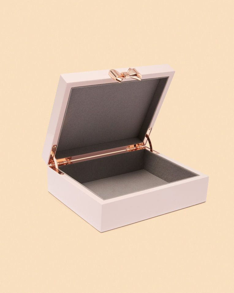 a62bcde67 Medium jewellery box - Light Pink | Gifts For Her | Ted Baker UK ...
