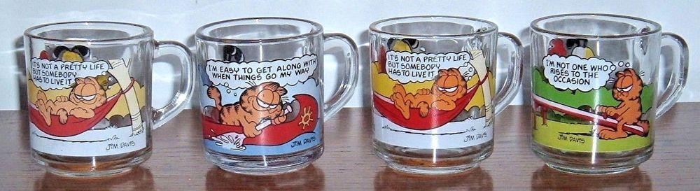 Garfield McDonald/'s Coffee Cup