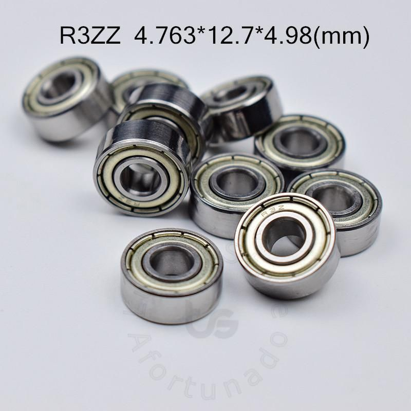 R3zz 4 763 12 7 4 98 Mm 10pieces Free Shipping Bearing Abec 5 Bearings Metal Sealed Miniature Bearing 3 16 X 1 2 X 0 196 Inch Led Down Lights Hardware Miniatures