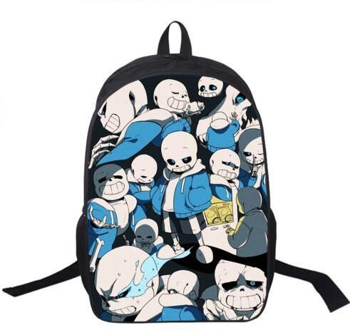 f3ea300cf6fd Anime Undertale Backpack For Teenagers Boys Girls School Bags Sans Women  Men Travel Bag Undertale Children School Backpacks