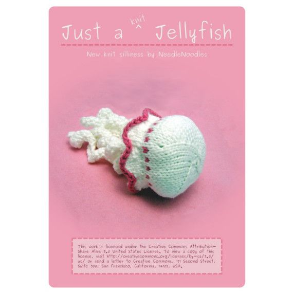 Knit Jellyfish Pattern PDF | Jellyfish, Pdf and Patterns