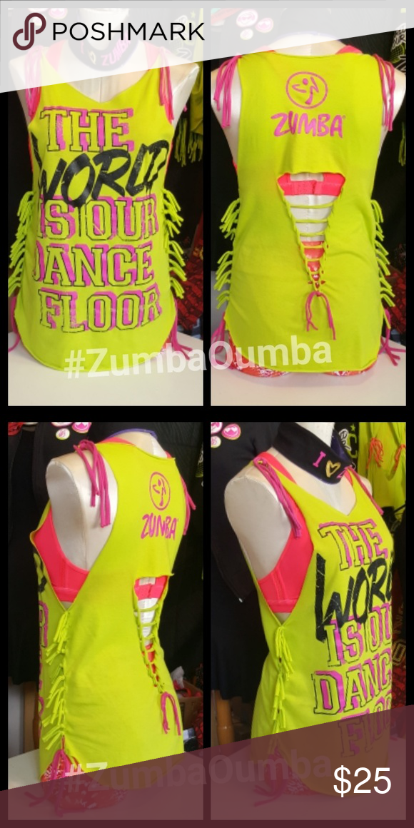 72a36368e06 Selling this New zumba wear custom cut sale on Poshmark! My username is:  monthi