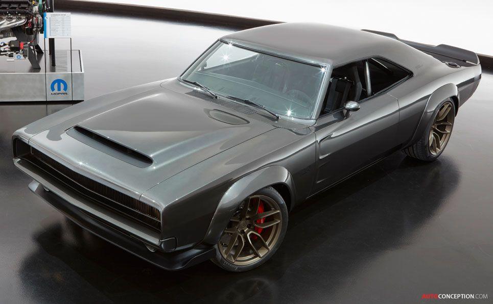 1968 Dodge 'Super Charger' Muscle Car Concept Takes SEMA Show by Storm – AutoConception.com
