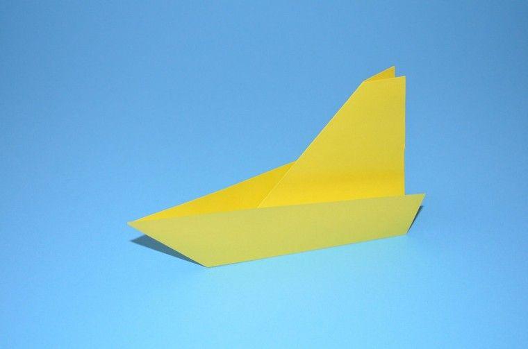 Comment Faire Un Bateau En Papier Origami Facile Debutant