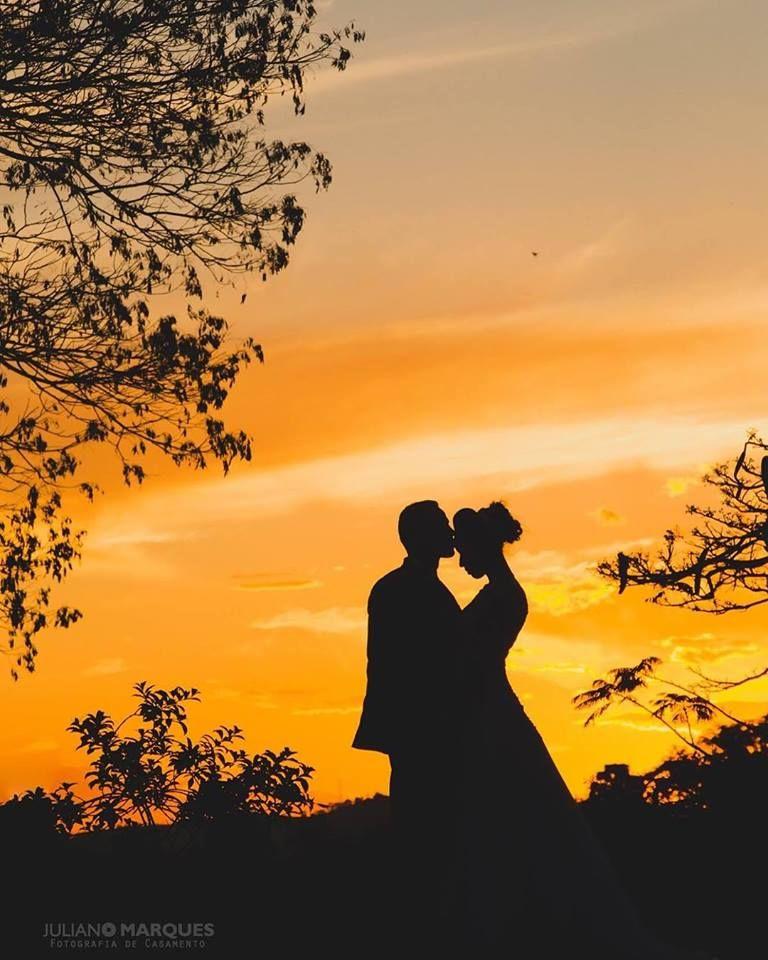 O céu iluminando nosso amor
