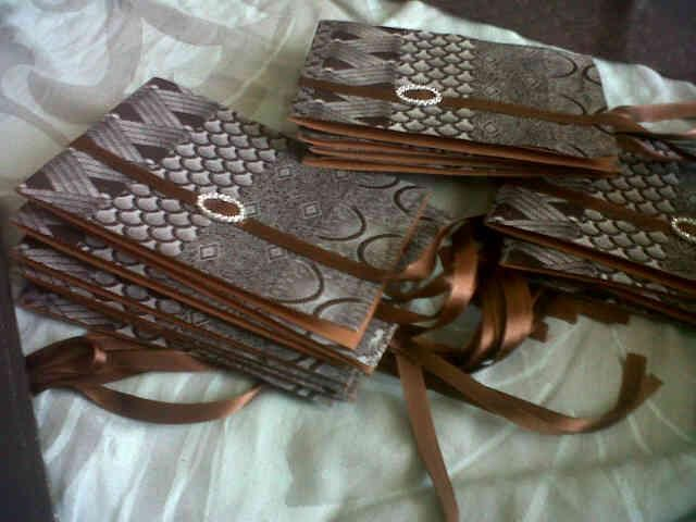 Traditional Amabhaso Imigidi Wedding Invites Samples File