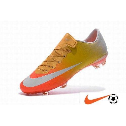 the best attitude 90a5c 53728 Nike Mercurial - Nike Mercurial Vapor X FG Firm-Ground Voetbalschoenen  Oranje-Rood