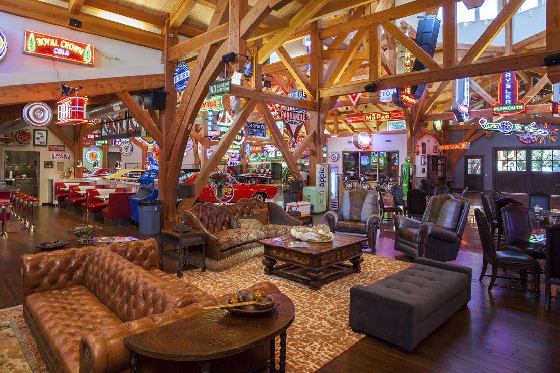 Texas Timber Frames Residential & Commercial Car barn