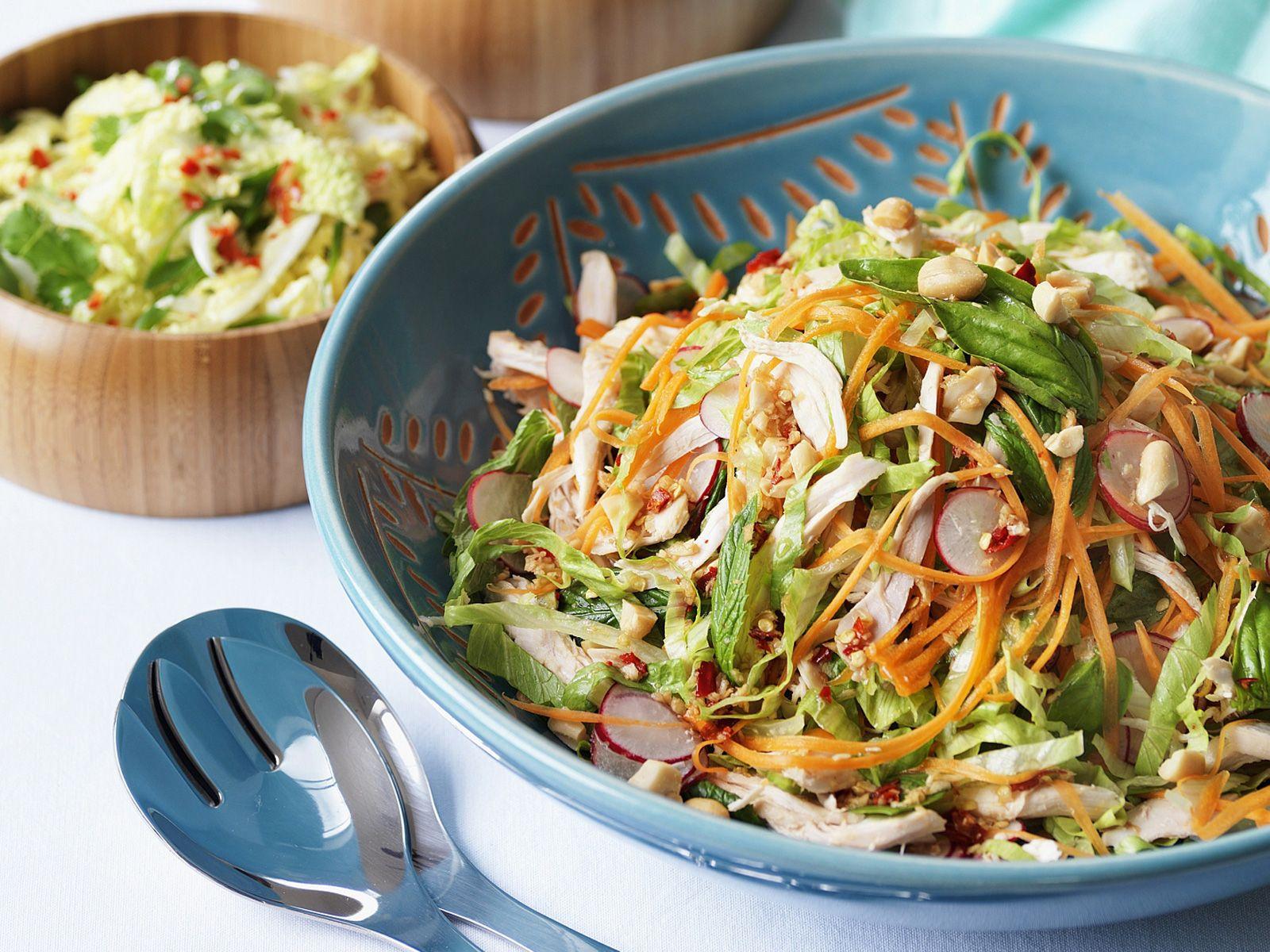 Hähnchensalat auf vietnamesische Art