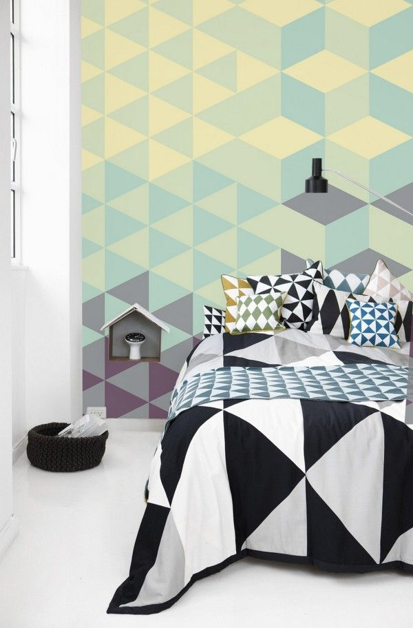 Wall Murals in Pastel Colors by PIXERS