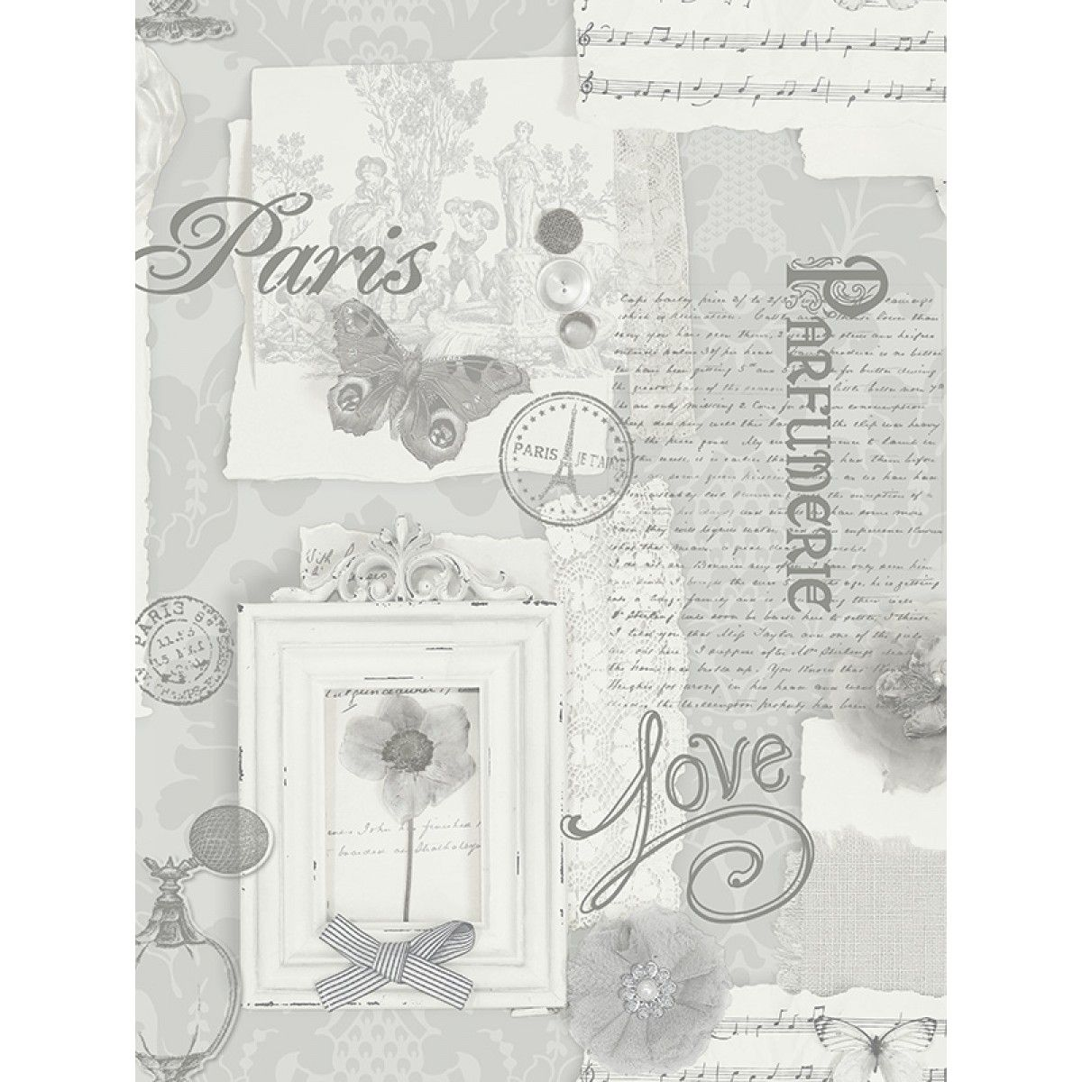 Delightful A Beautiful Paris Themed Wallpaper Features Subtle Metallic Accents Ideal  For Bedrooms And Lounges