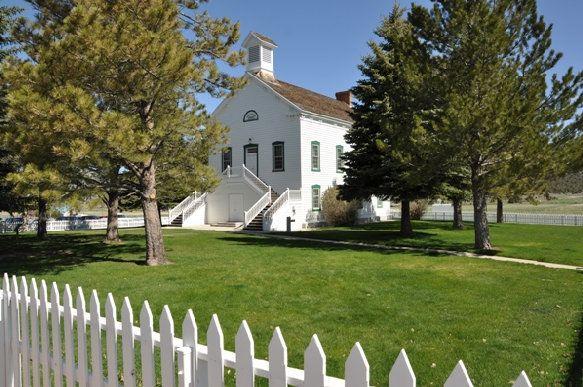 Pine Valley Ward Chapel - LDS Historic Sights   Pine ...