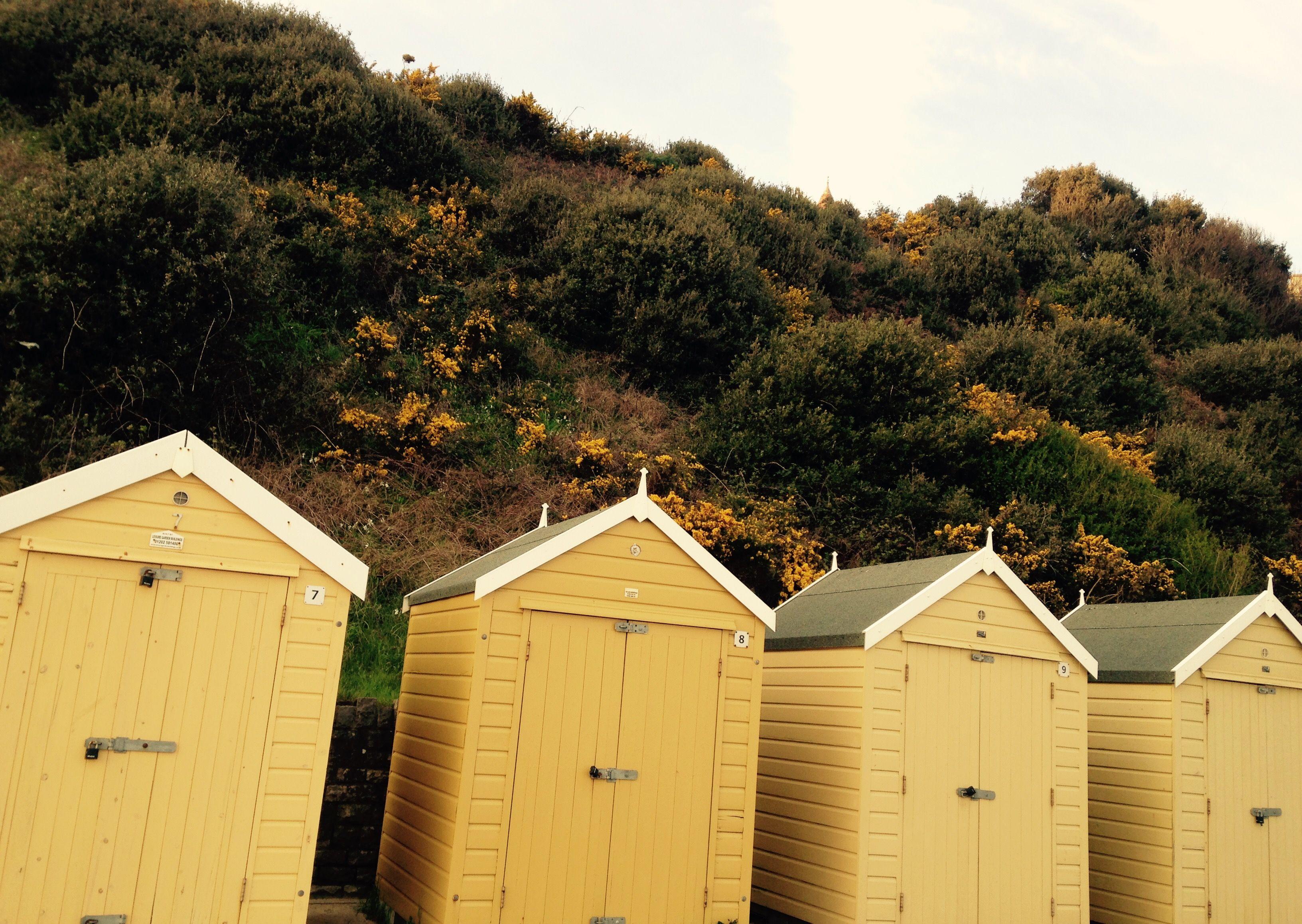 Bournemouth beach huts Mar 17