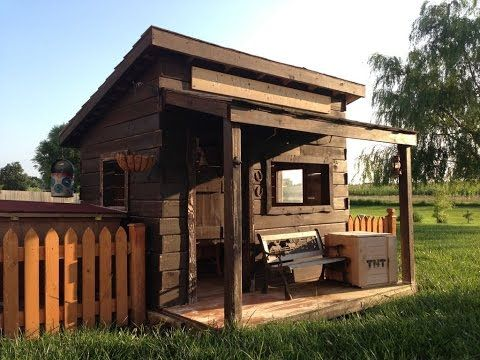 Mini Haus Aus Holz Selber Bauen