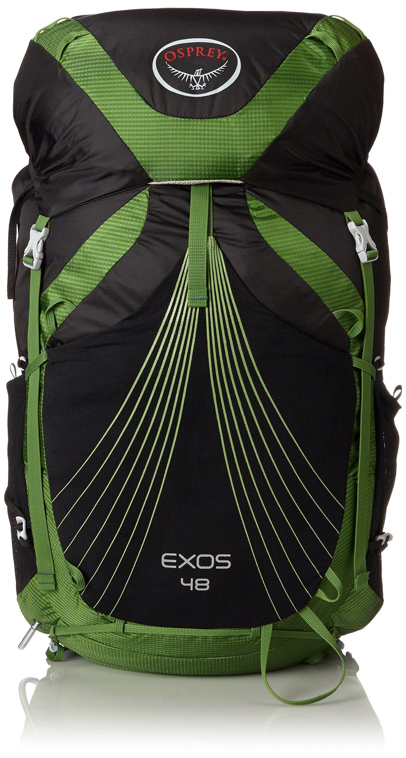 608763934e19 Osprey Packs Exos 48 Backpack, Basalt Black, Medium | Backpacking ...
