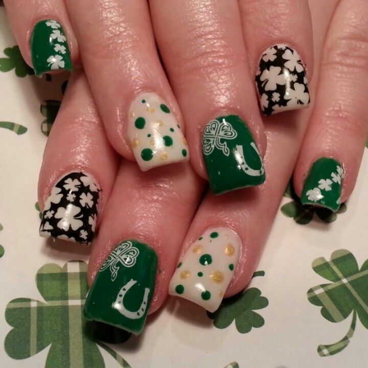 St Patrick\'s day nails | Nails <3 Nails <3 Nails <3 | Pinterest ...