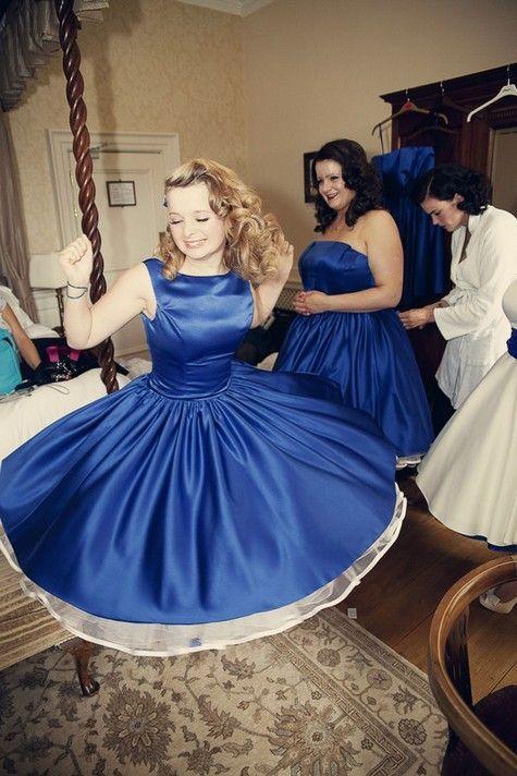 50s Bridesmaid Dresses Fun