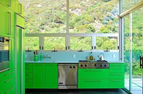 Neon Green Kitchen Cabinets ๑ ๑ ṋe 8 Ya ᗛẕ ๑ ๑ Green