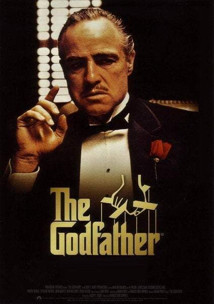 Movie Poster The Godfather Classic Retro Film Cover Home Decoration In 2021 The Godfather Poster Godfather Movie Gangster Movies