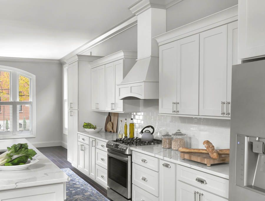 Homeowners Create A Timeless Look In Their Kitchen The Most