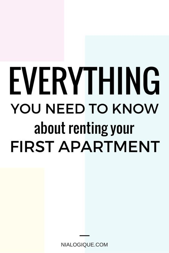 Everything You Need To Know About Renting Your First Apartment This Article Expands On Payments Utilities Pro First Apartment Apartment Apartment Checklist