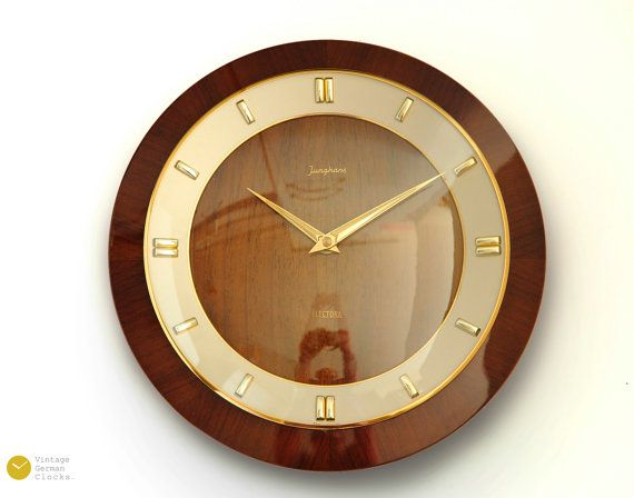 Superb Junghans Mid Century Wall Clock