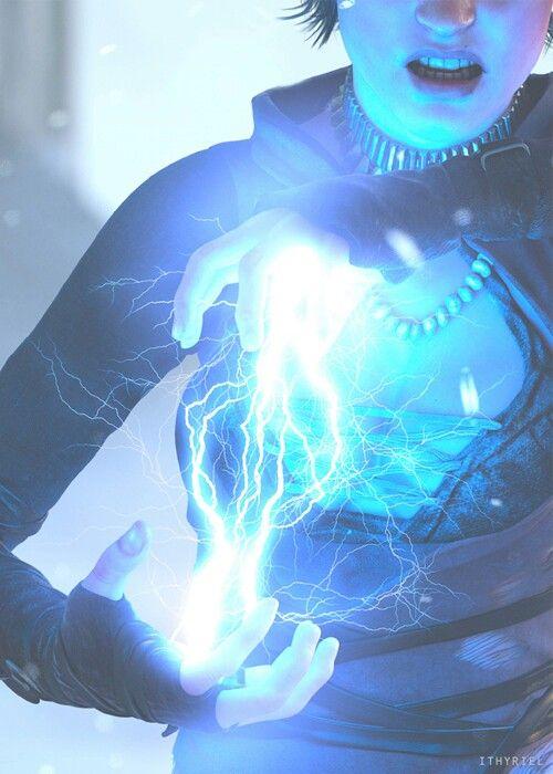 White Lightning Manipulation - Power to manipulate white lightning
