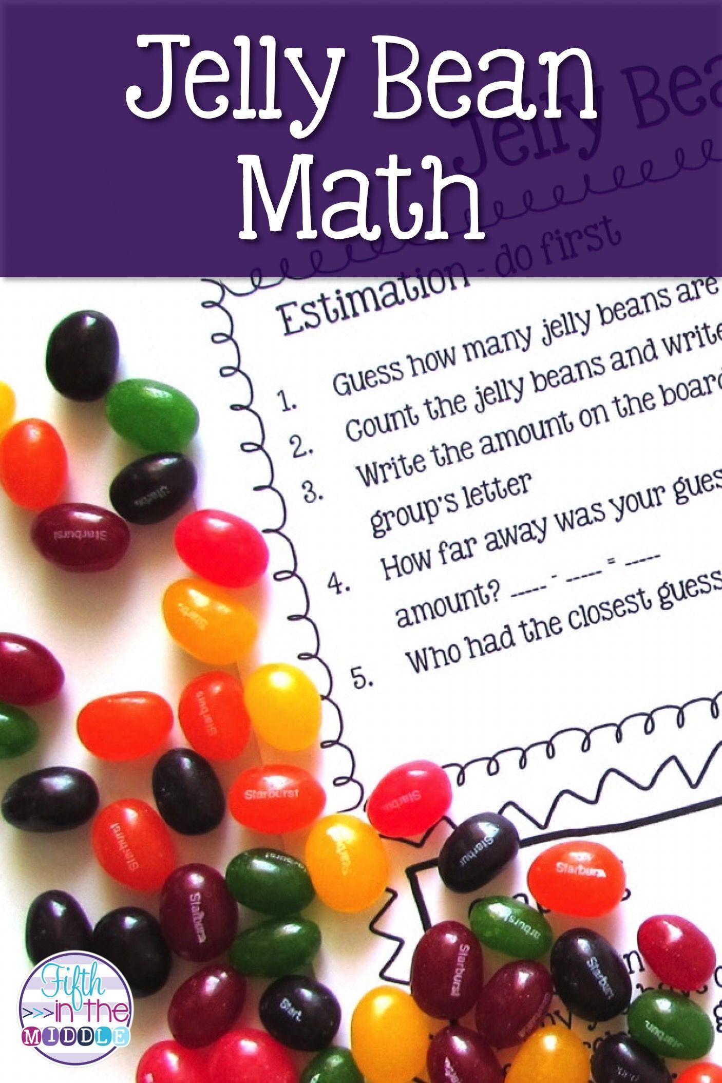 Easter Jelly Bean Hands On Math For Upper Elementary